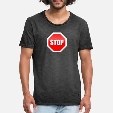 Further Stop Stop Not further - Men's Vintage T-Shirt