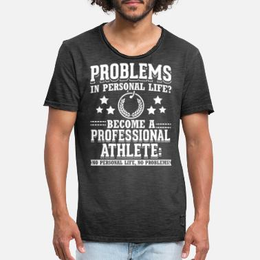 Professional Athlete private elife professional athlete - Men's Vintage T-Shirt
