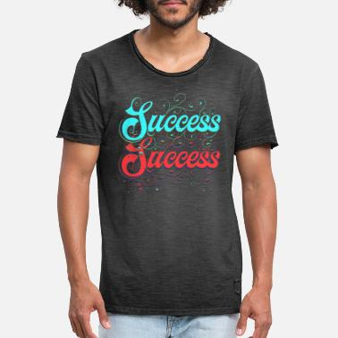 Success Success. Success starts for you! Success Success. - Men's Vintage T-Shirt