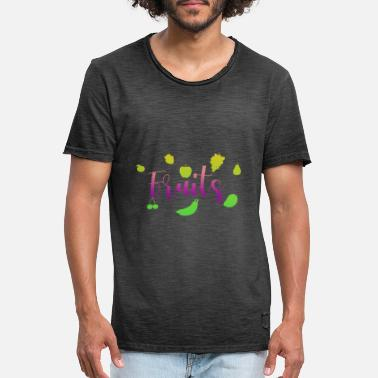 Fruité Fruits - fruits - T-shirt vintage Homme