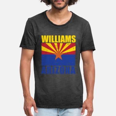 Williams WILLIAMS - Miesten vintage t-paita