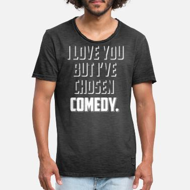 Stand Up Comedy Stand Up Comedy T-Shirt Gift Comedian - Men's Vintage T-Shirt