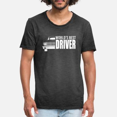 Drive Go By Car Car - car - car - cart - car - drive - Men's Vintage T-Shirt