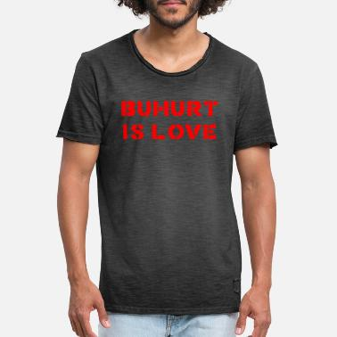 Buhurt is Love - Men's Vintage T-Shirt
