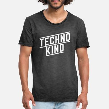 Techno Kid Techno kid - T-shirt vintage Homme