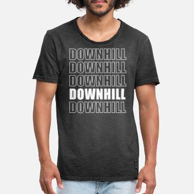 Downhill bike mountain bike - Men's Vintage T-Shirt