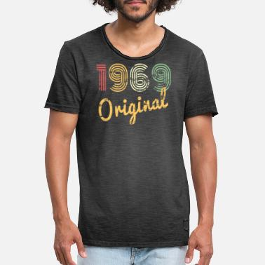 50th Year Old Birthday Gifts Ideas Women Men - Men's Vintage T-Shirt