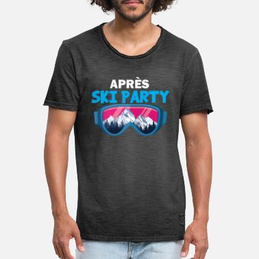 Party Apres Ski Party Apres Ski T-Shirt - Vintage T-shirt mænd