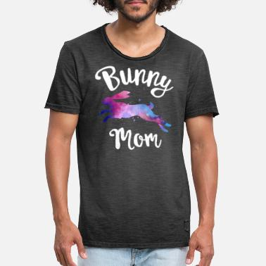 Mom Shirt Cute Rabbit Lover Spring Mama Easter - Men's Vintage T-Shirt