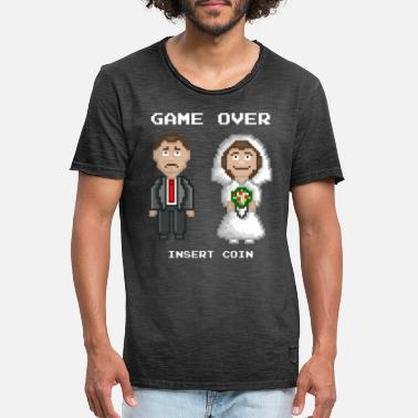 Marriage - Game Over - Men's Vintage T-Shirt