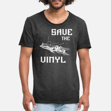 Save The Vinyl Save the vinyl - Men's Vintage T-Shirt