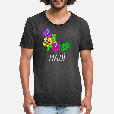 Hawaii Maui - Men's Vintage T-Shirt