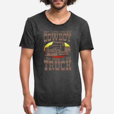 PICKUP TRUCK LUSTIG US Pickup Vintage US Car - Men's Vintage T-Shirt