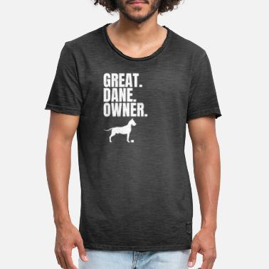 Great Danes Great Dane Great Dane Ulmer Great Dane Gift - Men's Vintage T-Shirt