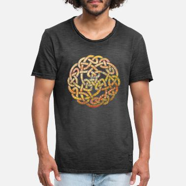 Druid Celtic knot 5 e 37 - Men's Vintage T-Shirt