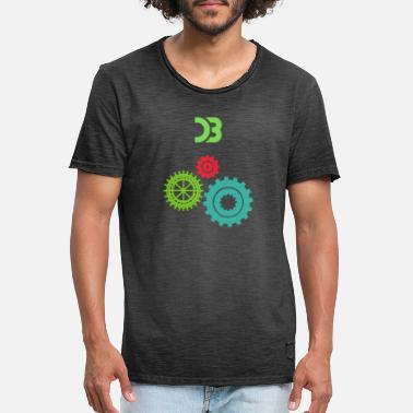 Wheels wheel - Men's Vintage T-Shirt