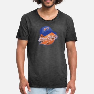Baloncesto New York Ball Sport Lovers - Camiseta vintage hombre