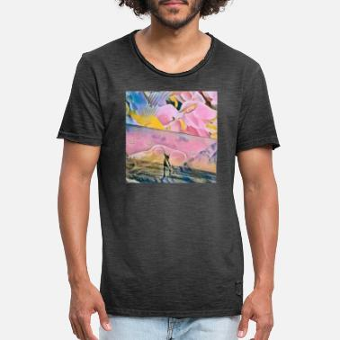 The Rose Life of Animals - T-shirt vintage Homme