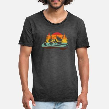 Bicycle Tour bicycle tour - Men's Vintage T-Shirt