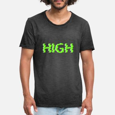 High - Men's Vintage T-Shirt