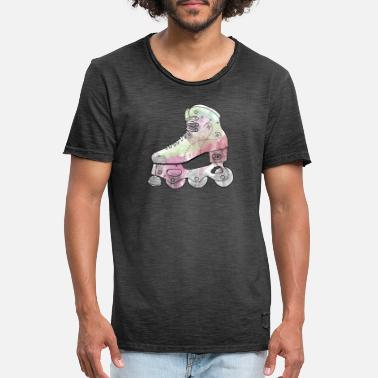 Inline watercolor pink - Men's Vintage T-Shirt