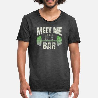 Meet Meet me at the bar - Men's Vintage T-Shirt