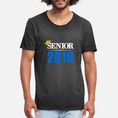 High School Senior Senior 2019 Graduate High School Senior Gifti - Men's Vintage T-Shirt