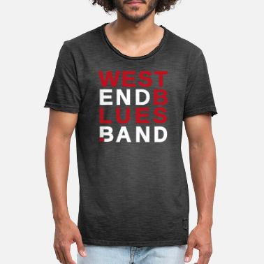 Munich WestEndBlues.Band Munich - T-shirt vintage Homme