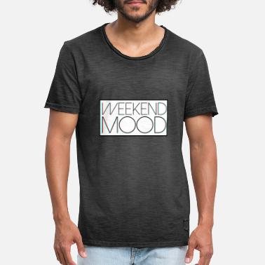 Chromatic Weekend Mood Chromatic - Men's Vintage T-Shirt