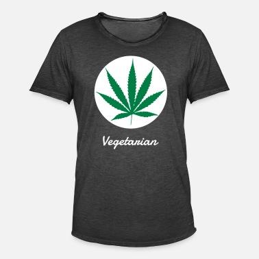 marihuana narkotyki cannabis zioło reggae rasta Koszulka męska Premium biały