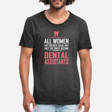 Dental Dental assistants - Männer Vintage T-Shirt