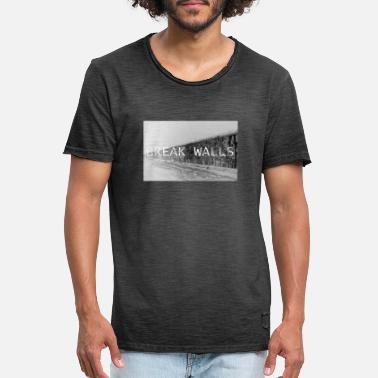 Mauer break Walls - Männer Vintage T-Shirt