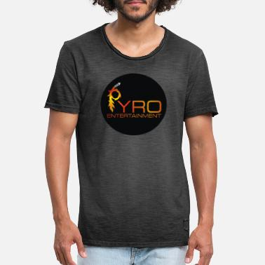 Entertainment Pyro Entertainment - Mannen vintage T-shirt