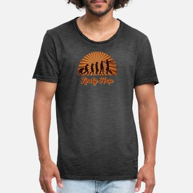 Hop Lindy Hop retro design - Men's Vintage T-Shirt