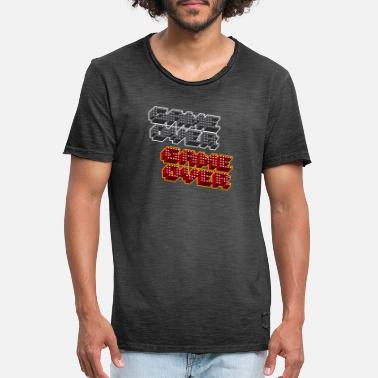 Game Over Game Over Game Over - Men's Vintage T-Shirt