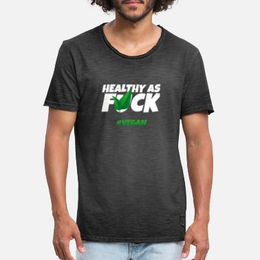 Healthy Vegan Healthy food - Men's Vintage T-Shirt
