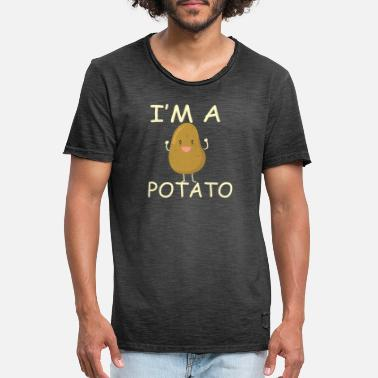 Patate Je suis une patate! - T-shirt vintage Homme