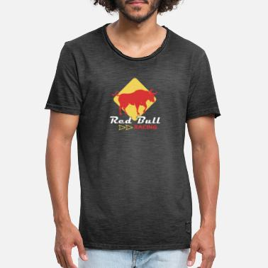 Muscle Racing - Männer Vintage T-Shirt