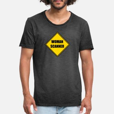 Scannen Woman Scanner - Männer Vintage T-Shirt