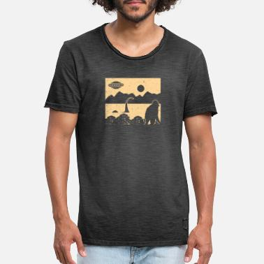 Cryptozoologie Cryptozoologie Bigfoot - T-shirt vintage Homme