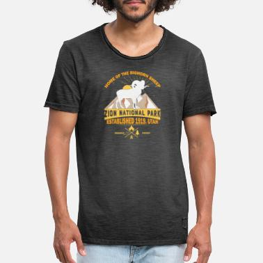 Nationalpark Zion Nationalpark - Männer Vintage T-Shirt