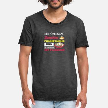 Lunch Breakfast and lunch - Men's Vintage T-Shirt