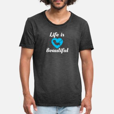 Pro Pro Life Gift Anti Abortion Choose Life Is - Men's Vintage T-Shirt