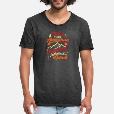 Mountain Sports Mountain sports - Men's Vintage T-Shirt
