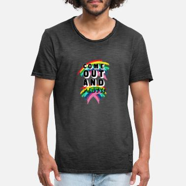 Coming Out Come Out And Party! - Men's Vintage T-Shirt
