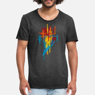 abstract 11 - Men's Vintage T-Shirt