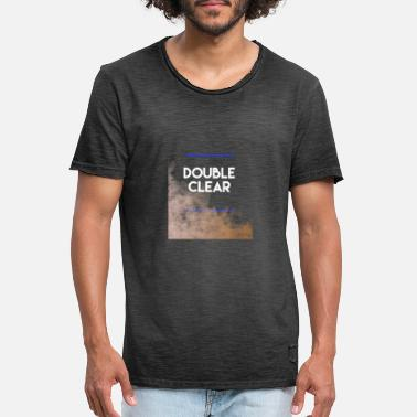 All Clear Double Clear - Männer Vintage T-Shirt