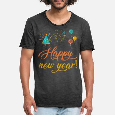 New Year New Year New Year's Eve New Year - Men's Vintage T-Shirt
