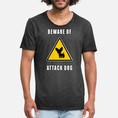 Attack Dog beware of attack dog - Men's Vintage T-Shirt