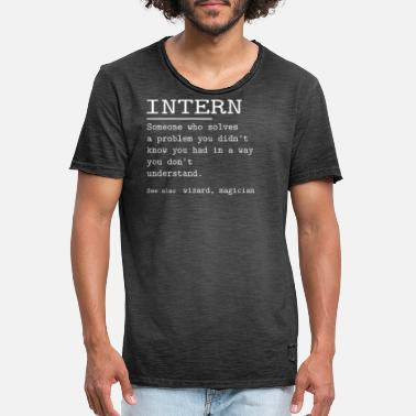 International INTERN - Men's Vintage T-Shirt